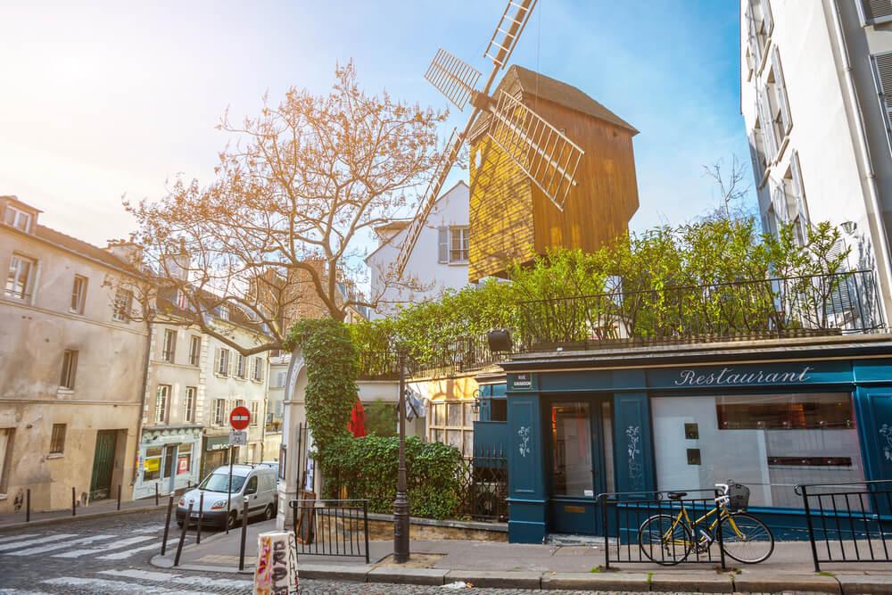 L'histoire quartier moulins Paris