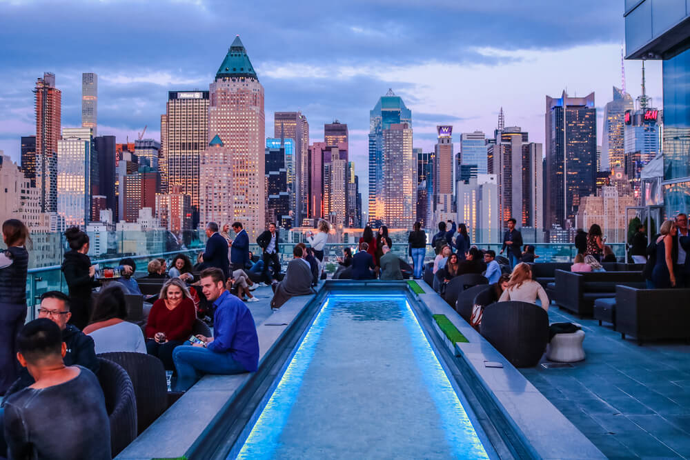Les toits les plus animés de New York