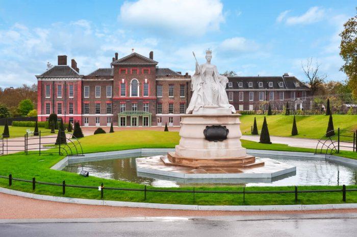 Visite du palais de Kensington et ses jardins à Londres