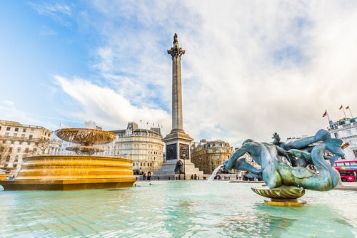 Trafalgar Square, marchons au coeur de Londres