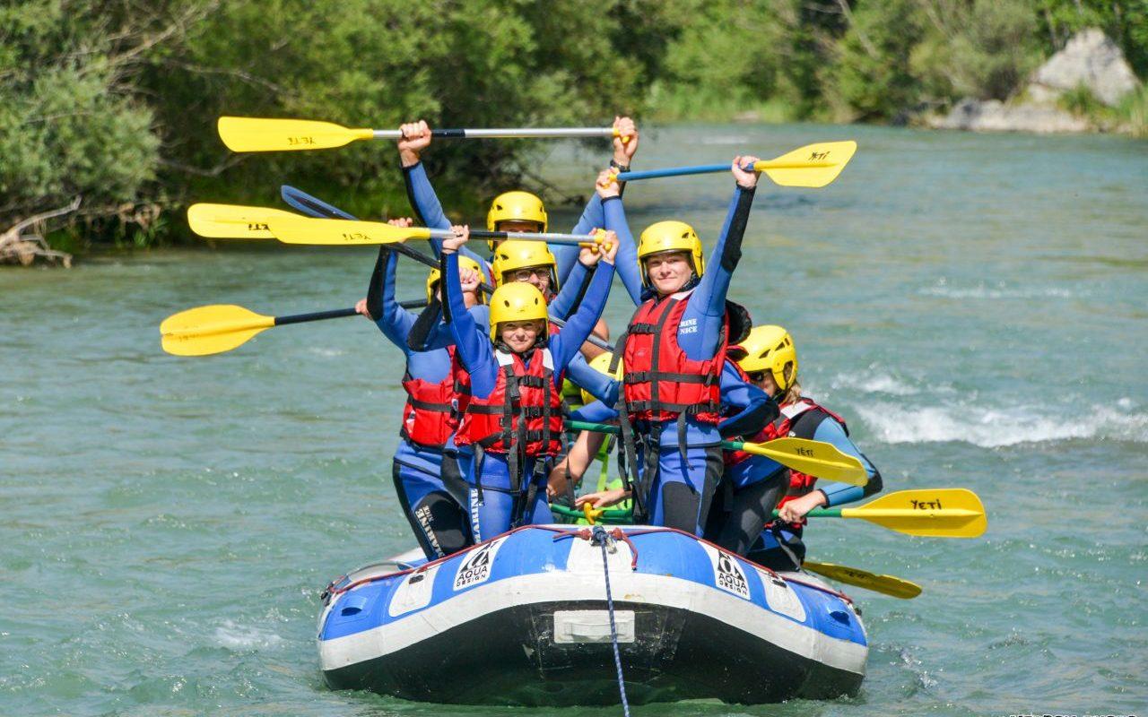 Materiel rafting dans le Verdon - Yeti Rafting