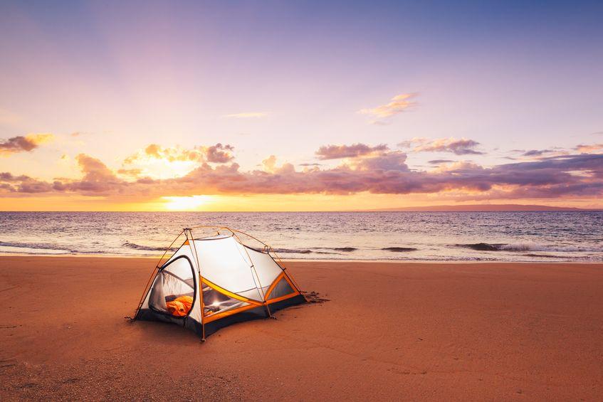 camping pour les vacances