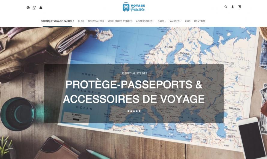 Notre avis sur Voyage Paisible, la marque d'accessoires de voyage très tendance !